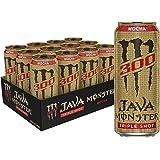 Monster Energy Java 300 Mocha, Triple Shot, Robust Coffee…