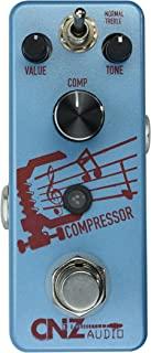 CNZ 音频压缩机 - 压缩吉他效果踏板,真正的旁路
