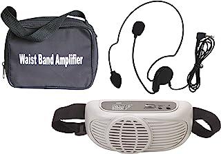 Audio2000'S AWP6202 腰带便携式 PA 系统,带耳机麦克风AWP6202