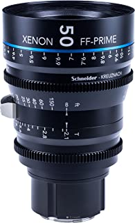 Schneider-Kreuznach 1085548 Cine镜头,FF-Prime T2.1/50毫米,Sony 索尼 E/ft,黑色