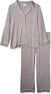 Barefoot Dreams 女式奢华牛奶针织滚边睡衣套装
