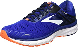 Brooks 男款 Defyance 11 跑鞋, Blue/Orange/White, 10 UK