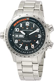 [HAMILTON]HAMILTON 手表 卡其色 X-Wind 日期 机械式自动上弦 H77755133 男士 【正规进口商品】