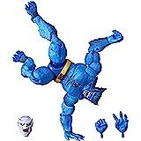 Marvel Hasbro 传奇系列 6 英寸可收藏公仔野兽玩具(X 战警系列) - 含 Caliban Build-A…