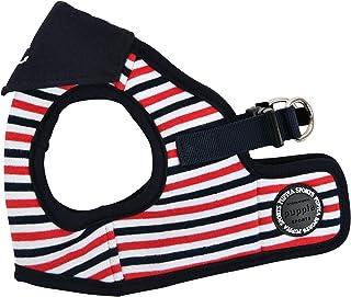Puppia Seaman 胸背带 B *蓝 小号