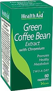 HealthAid Green Coffee Bean Extract 60 Vegan Capsules