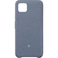 Google 谷歌 Pixel 定制面料 手机壳 兼容 Active Edge,蓝色,Pixel 4