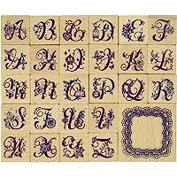 东京复古 邮票套装 字母表
