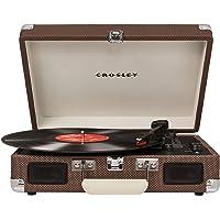 Crosley Cruiser 豪华便携式蓝牙电唱机复古设计,粗呢