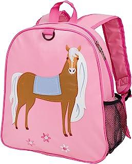 Wildkin 刺绣背包,适合幼儿男孩和女孩,适合日托、学龄前和幼儿园,儿童背包尺寸 33.5 x 30.5 x 12.25 英寸(约 33.0 x 30.8 x 15.2 厘米),不含双酚 A,橄榄儿童(真色)