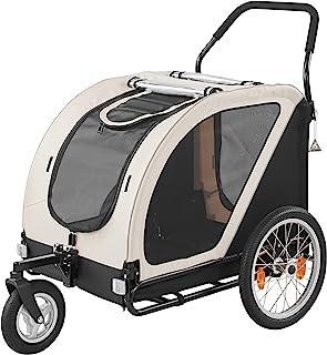 CUBE SERIES NEST BIKE 立方体系列 摩托车模型 乳白色×黑色 AD3027 中型多头饲养宠物车 可折叠 三轮