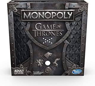 Hasbro 孩之宝 Gaming E3278102 Monopoly 大富翁 权力的游戏(英文版) 棋盘游戏