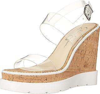 Jessica Simpson 女士 Maede Espadrille 坡跟凉鞋