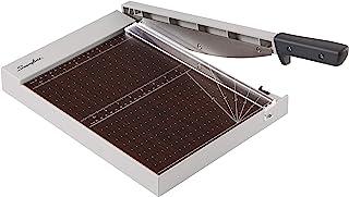 Swingline 纸修剪器,切口刀,12 英寸(约 30.5 厘米)切割长度,10 张容量,木头,经典切割 1210W 带 EdgeGlow (G701001)