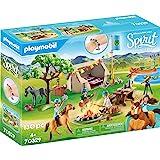 Playmobil 70329 DreamWorks 夏日露营 带幸运和精神 4 岁以上