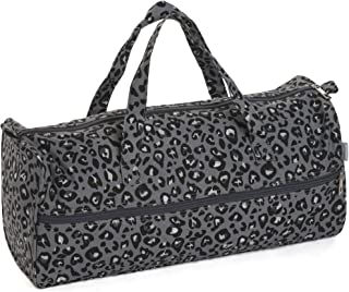 Hobby 礼品针织收纳袋,灰色豹纹,15 x 42 x 17.5 厘米