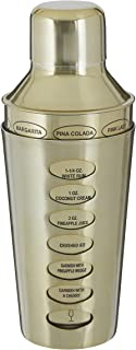 Premier Housewares 0507497 鸡尾酒调酒器 500 毫升,不锈钢,黄铜