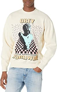 Obey 男式 Stretch Your Boundries Box Fit 优质圆领
