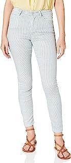 Springfield Pantalón Slim Crop Rayas 女士长裤