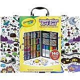 Crayola 绘儿乐 Imagination Inspiration 140件 美术用品套装 儿童礼物,适合年龄4…