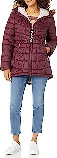 Bebe LADIES Glac Shield 连帽外套 + 人造毛皮外套