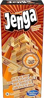 Hasbro 孩之宝 Jenga Classic 层层叠/抽积木 儿童反应游戏,适于6岁以上儿童