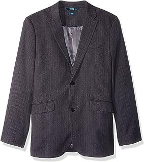 Perry Ellis 男式修身弹力混色条纹运动外套