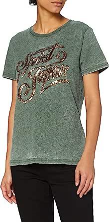 Superdry 极度干燥 女士 Off Piste Sparkle T 恤
