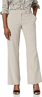 Calvin Klein 女士娇小经典修身 Lux 长裤