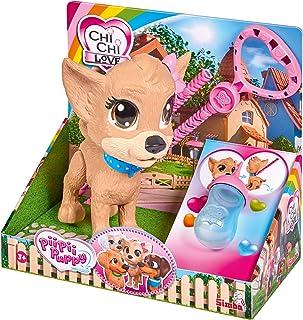 Simba 105893460 Chi Chi Chi Love Pii Pii 娃娃,狗狗走到遛狗,制作皮皮皮,3岁以上,20厘米