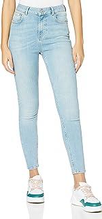 Superdry 极度干燥 女士高腰紧身牛仔裤