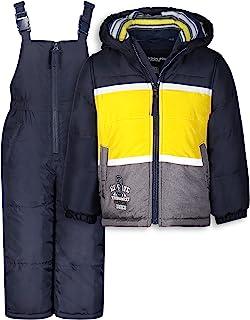 LONDON FOG 男婴 2 件套雪裤和夹克防雪服