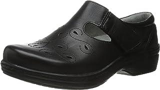 Klogs Footwear 女式 Brisbane 皮革 Mary-Jane Resturant 鞋 光滑黑 8