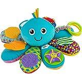 LAMAZE Octivity Time 婴儿感官玩具,柔软的婴儿玩具,适合感官玩耍和发现,章鱼幼儿玩具,适合 6 个月…