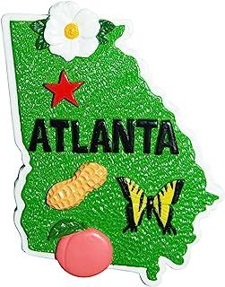 佐治亚州形磁铁以亚特兰大市为特兰大市