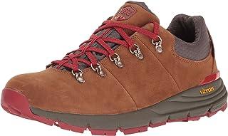 "Danner 男士 Mountain 600 Low 3"" 棕色/红色徒步鞋"