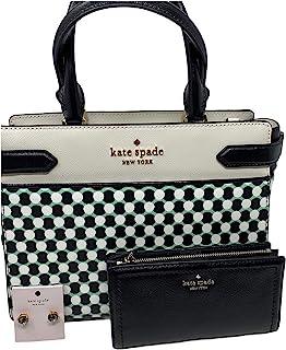 Kate Spade 凯特丝蓓 New York Staci 中号挎包 3 件套 配配套双折钱包和耳环套装