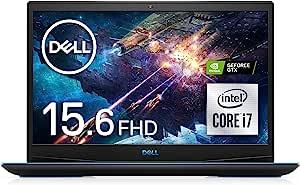 Dell 戴尔 游戏笔记本电脑 Dell G3 15 3500 黑色 Win10/15.6FHD/Core i7-10750H/16GB/512GB SSD/GTX1660Ti NG385VRA-ANLB