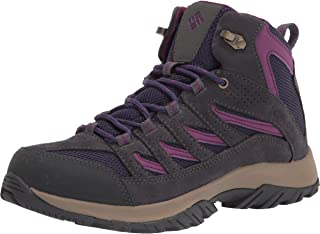 Columbia 女士 Crestwood MID 防水登山靴