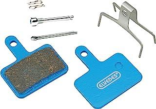ELVEDES BR-M375, M415-M495, M515, M52 制动衬片 Cycle/MTB/电动自行车/山地自行车/街道,中性,蓝色,标准