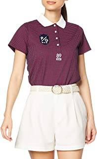 Perry Gate 短袖 Polo衫 36G 足球格子 高轨凹凸不平格子JQ / 055-1160206 女款