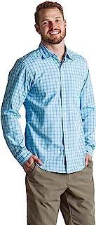 ExOfficio 男士 Salida 格子轻质长袖衬衫