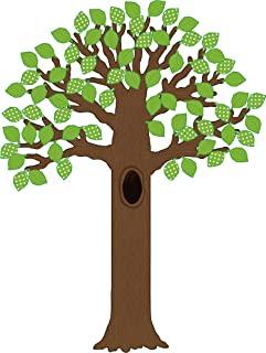 Teacher Created Resources 5435 大树带圆点叶布告栏(7 片)