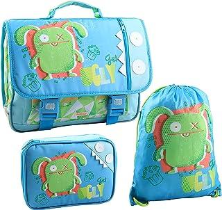 Jacob & Co. 书包 + 健身包 + 铅笔盒 Ugly Dolls 儿童背包,41 厘米 * *