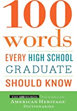 100 Words Every High School Graduate Should Know (English Edition)
