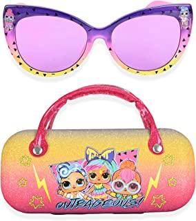 LOL 惊喜儿童太阳镜女童幼儿太阳镜带儿童眼镜盒