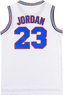 IXUEYU 青年篮球运动衫 #23 电影太空球衣 儿童运动衫 90 年代嘻哈服装 派对白/黑/蓝