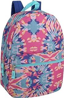 Trail maker 女童全身印花背包 17 英寸(约 45.7 厘米)带软垫肩带