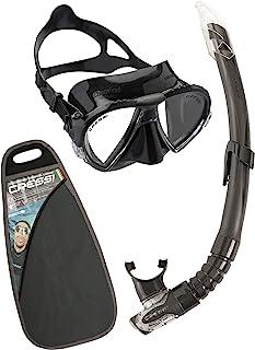 Cressi 科越思 中性 MATRIX & GAMMA COMBO 潜水镜呼吸管套装 潜水装备 DS3025
