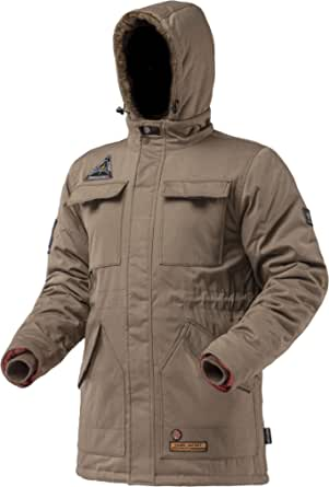 AIRBOSS 火星派克大衣 - 男式保暖冬季外套